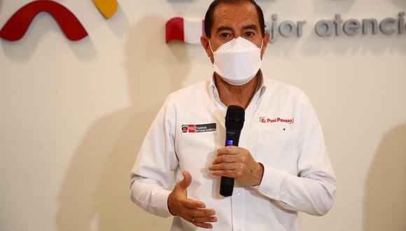 Presidente del Consejo de Ministros señala que el jefe de Estado aún no le ha informado si responderá a la invitación que hizo el fiscal Germán Juárez por el caso 'Club de la construcción'. (Foto: Hugo Curotto/GEC)