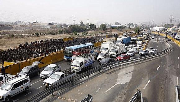 Puente Piedra: Al menos 1200 policías resguardan zona de peaje ante eventuales protestas (FOTOS)