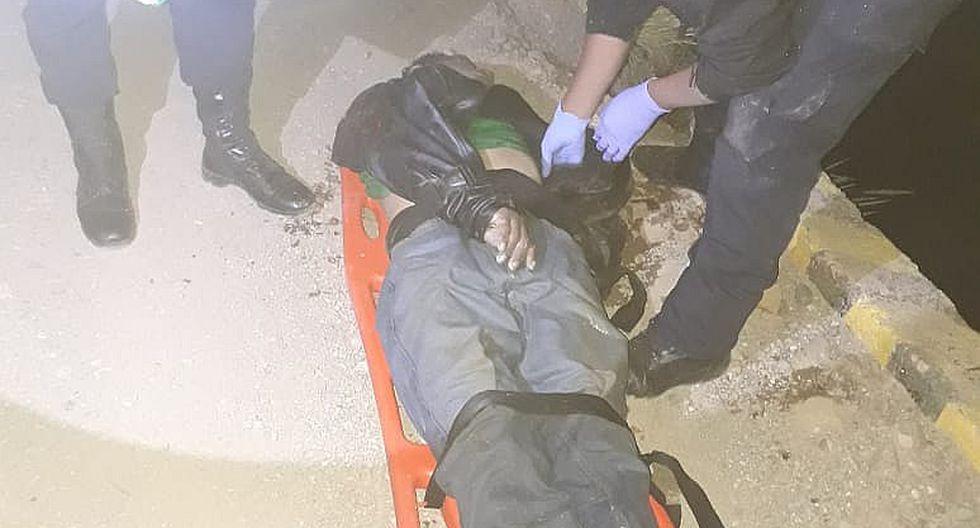Un muerto y otro herido dejó despiste de motocicleta en la vía Palca-Lampa