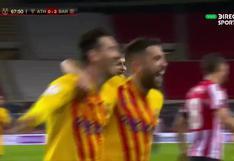 Doblete de Lionel Messi en el Barcelona vs. Athletic Club en la final de Copa del Rey (VIDEOS)