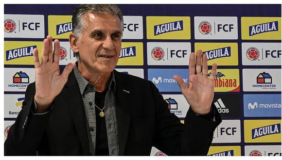 """Técnico de Colombia: """"Es un honor jugar contra el subcampeón de la Copa América"""""""