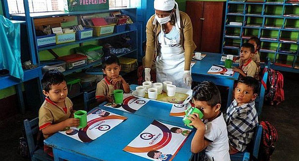 Qali Warma atiende a más de 5 mil escolares de secundaria con alimentación saludable