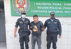 """Piura: Capturan a uno de """"Los Tarjeteros de Chiclayo"""" en Sechura"""