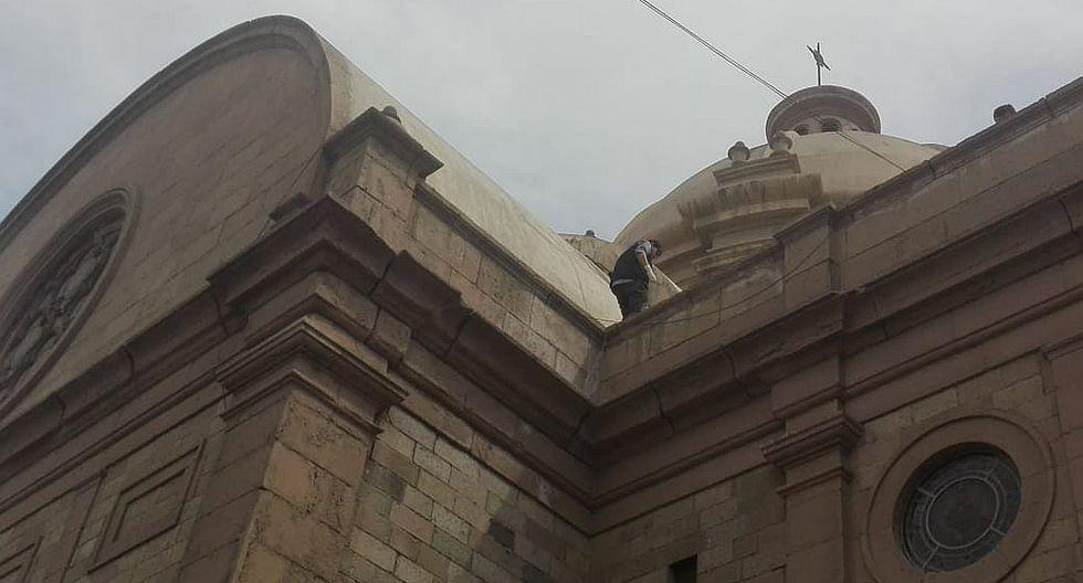Inician evaluación de la infraestructura de piedra de la Catedral de Tacna