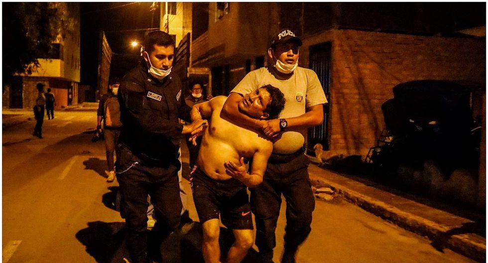 474 detenidos en segundo día de toque de queda en La Libertad