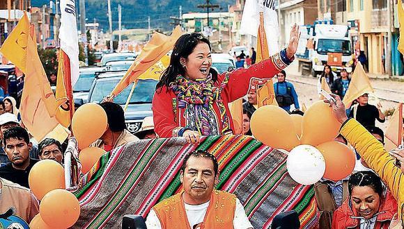 Minera Volcan aportó $260 mil a campaña de Keiko Fujimori en 2011