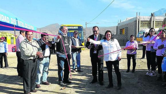 Más de 30 mil pobladores de la parte alta de Cayma ya tienen servicio público