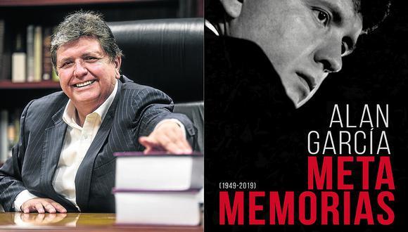 """""""Metamemorias"""", el último libro escrito por Alan García se publicará el 23 de noviembre"""