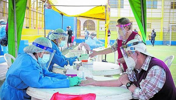 Áncash supera los 30 mil contagios de coronavirus