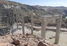 Niegan paralización de obra del puente Arequipa - La Joya