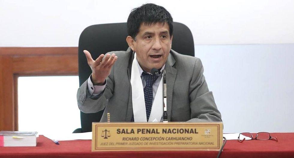 Investigan al juez Richard Concepción Carhuancho por presunto abuso de autoridad