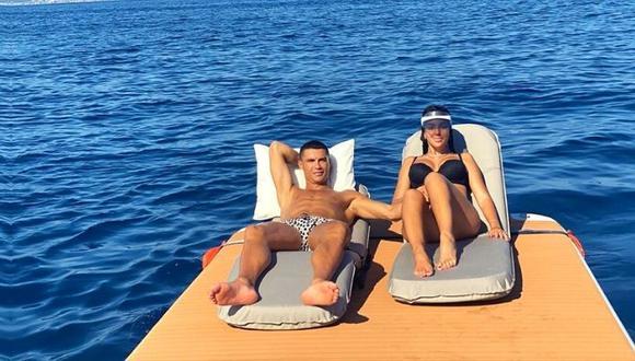 Cristiano Ronaldo empezó las vacaciones mientras negocia con PSG