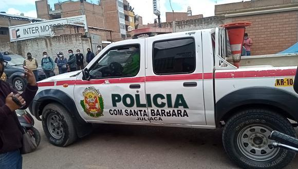 El caso fue denunciado ante la Policía Nacional.