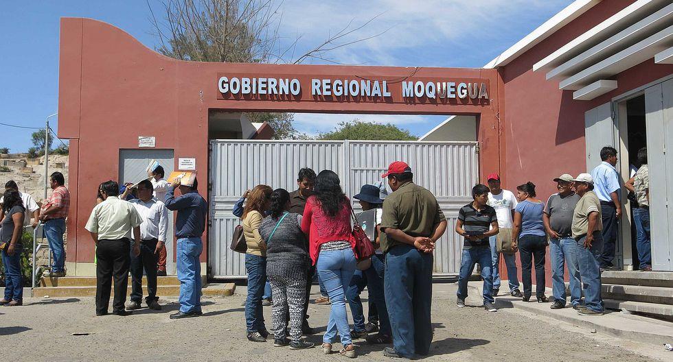 Región Moquegua recibiría S/ 15 millones menos de canon