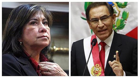 Martha Chávez asegura que Vizcarra quiere quedarse en el gobierno hasta después del 2021