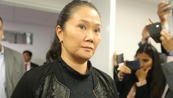 Keiko Fujimori pasa su primera noche en carceleta del Poder Judicial