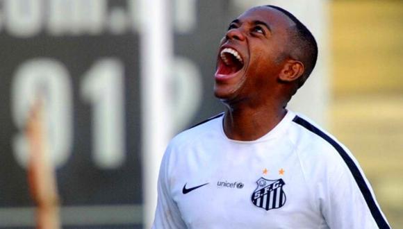 Robinho, con 36 años, regresa por cuarta vez a Santos FC.
