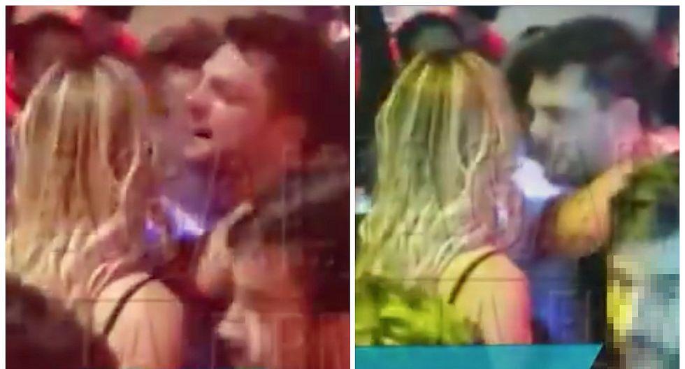 Nicola Porcella aparece en nuevas imágenes encarando y gritando a Angie Arizaga (VIDEO)