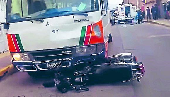 Joven músico piurano muere tras ser arrollado por un ómnibus en Ayacucho