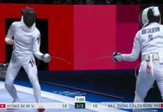 María Luisa Doig perdió en su debut en Esgrima en los Juegos Olímpicos Tokio 2020