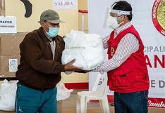 Entregan 12 mil mascarillas a pobladores de extrema pobreza en Santiago - Cusco