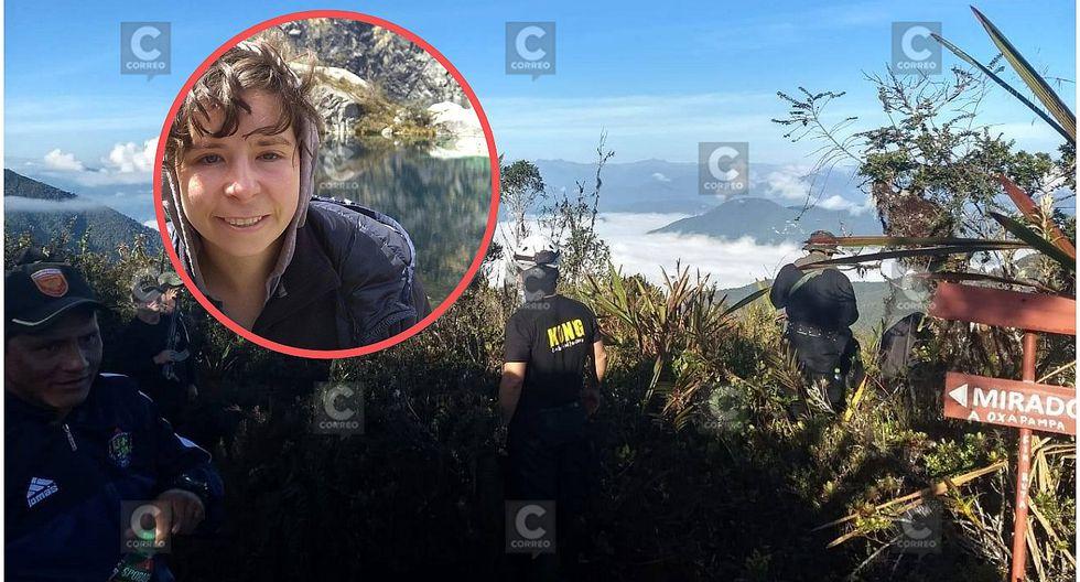 Turista británica desaparece en parque Yanachaga Chemillén en Oxapampa