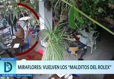 Miraflores: Regresan al acecho 'Los malditos del Rolex'