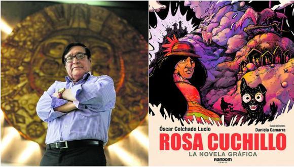 """""""Rosa Cuchillo"""" regresa como novela gráfica"""