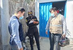 Ica: Delincuentes roban cámara de rebombeo en sector La Máquina
