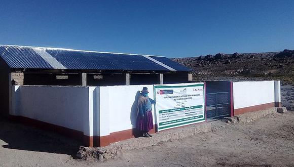 Agro Rural construye 30 cobertizos en Tacna