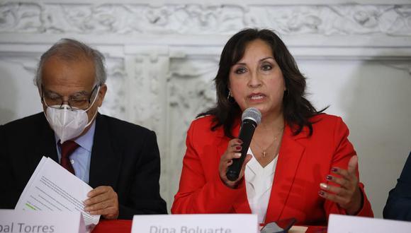 El Reniec indicó que Dina Boluarte no recibió remuneración en abril por encontrarse con licencia laboral. (Foto: Britanie Arroyo / @photo.gec)