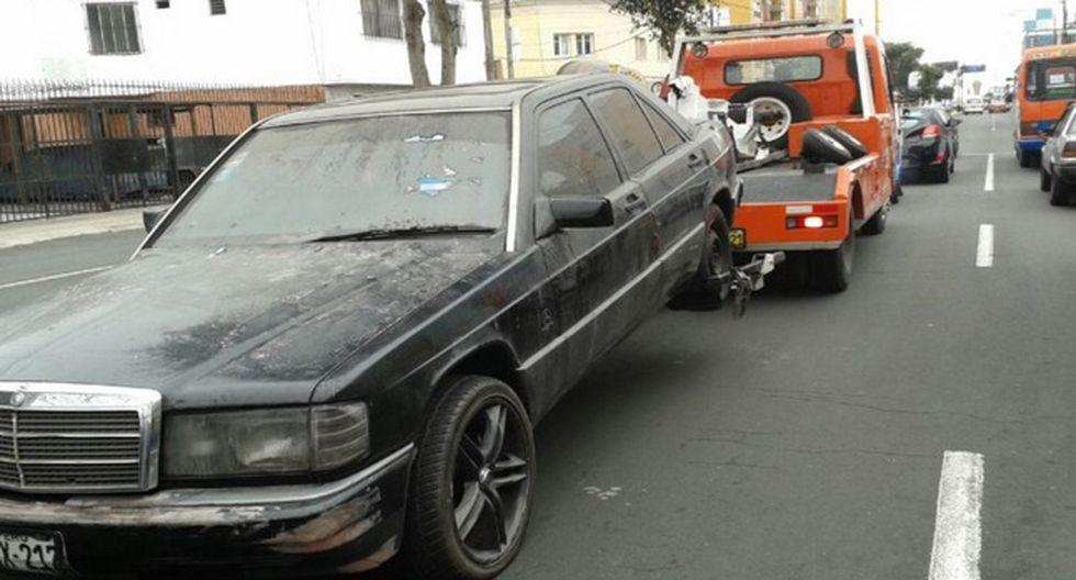 Retiran 20 autos abandonados en Magdalena