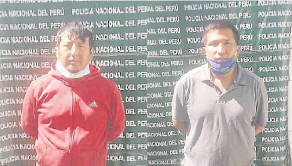 Ica: Detienen a dos por intentar invadir un terreno de parque