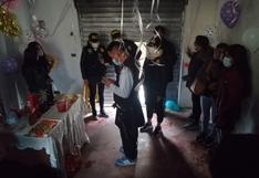 Huancavelica: Intervienen a once celebrando cumpleaños en un cuarto pequeño