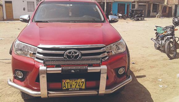 Delincuentes extranjeros alquilan y roban camionetas