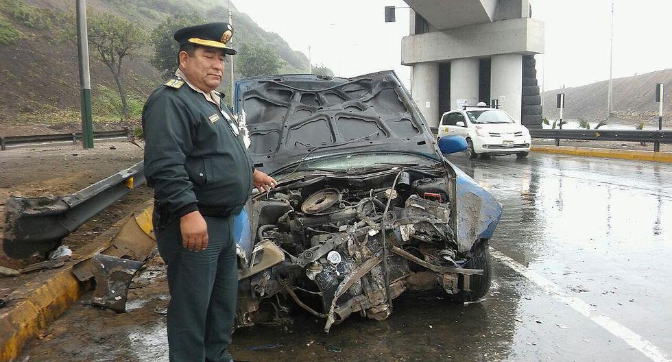 Magdalena: Seis heridos deja despiste de camioneta en bajada Marbella