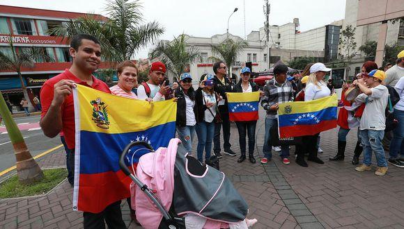 Perú es el segundo país con más inmigrantes venezolanos de la región
