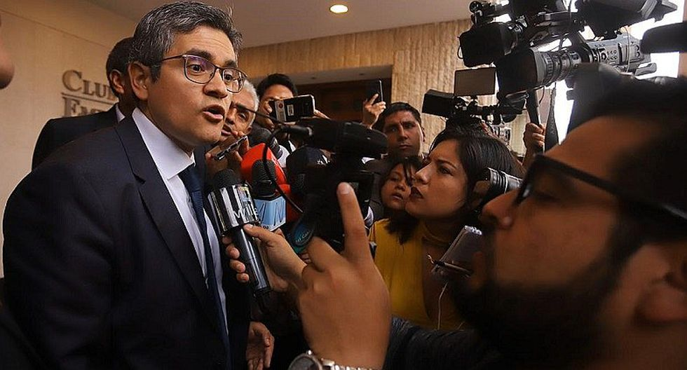 """José Domingo Pérez niega que sea un """"abuso"""" allanamiento a Confiep"""