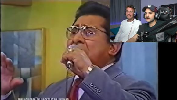 """Youtubers españoles sorprendidos por la letra de """"Cholo soy""""."""