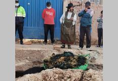 Hallan cadáver en medio de desagüe en San Miguel