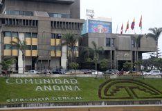 Delincuentes robaron computadoras y televisores de sede de la Comunidad Andina en San Isidro (VIDEO)