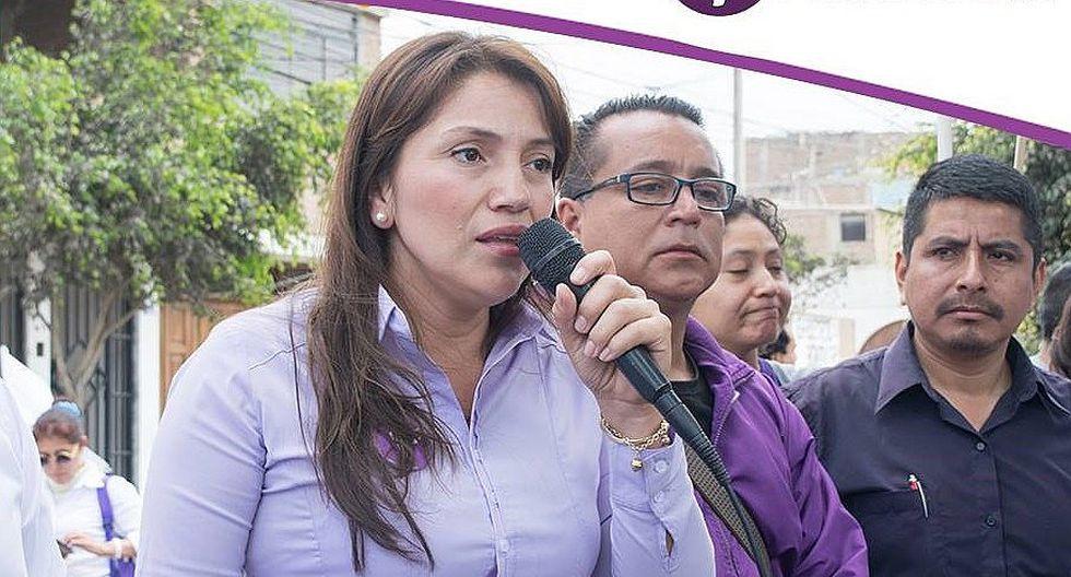 Candidata Verónica Torres publica en Facebook foto junto a su pariente delicado de salud y genera críticas