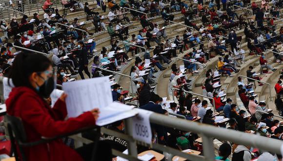 La autoridad universitaria también informó que en octubre se realizará el examen presencial de traslado externo dirigido a estudiantes de universidades no licenciadas por la Sunedu y que buscan continuar sus estudios en la Decana de América.