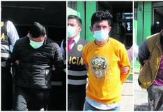 """Capturan a """"Los Sanguinarios"""" que cobraban hasta S/2 mil por matar a choferes para robar vehículos"""