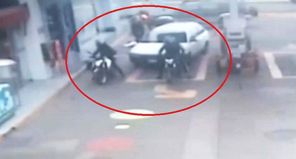 Callao: cámaras registraron asalto a banco donde abatieron a dos delincuentes (VIDEO)