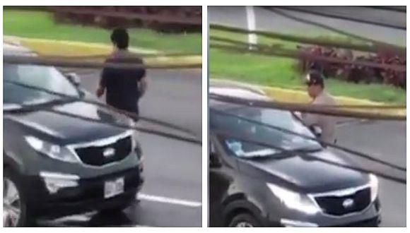 Callao: Captan a policía recibiendo supuesta coima en La Perla (VIDEO)