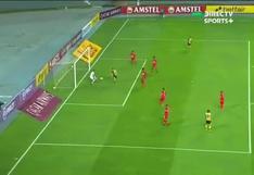 Sport Huancayo recibió el 1-0 de Coquimbo cortesía de Vallejo tras una revisión en el VAR (VIDEO)