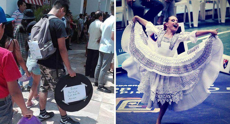 Limeño viaja a Trujillo con la esperanza de encontrar pareja de baile para Concurso de Marinera (FOTO)