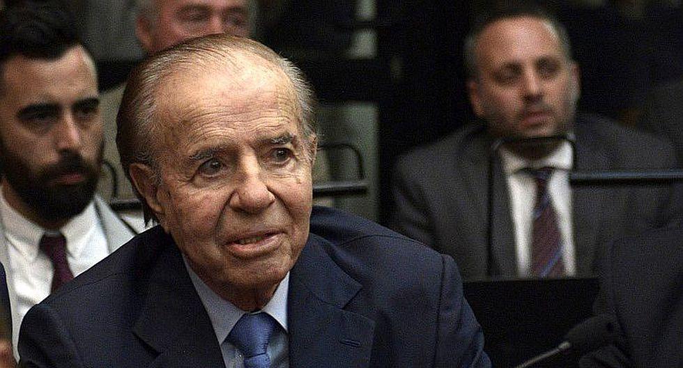Argentina: Condenan por peculado a expresidente Carlos Menem y su exministro