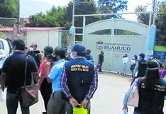 Huánuco: intervienen sede del Gobierno regional por demoras en ejecución del presupuesto para el COVID-19